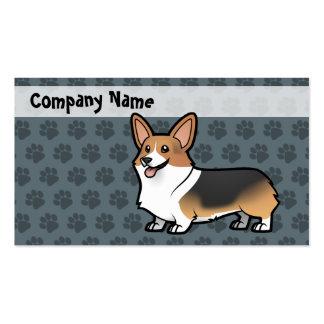 Diseñe a su propio mascota tarjetas de visita