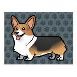 Diseñe a su propio mascota tarjetas postales