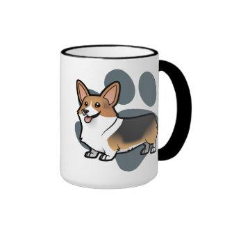 Diseñe a su propio mascota tazas de café