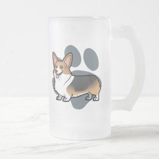 Diseñe a su propio mascota taza de cristal