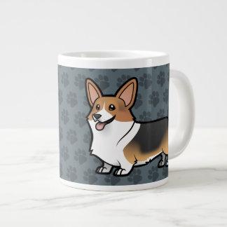 Diseñe a su propio mascota taza grande