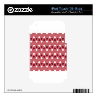 Diseñe los puntos redondos simples Polk de la moda Calcomanía Para iPod Touch 4G
