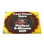 Diseñe mi propio presente personalizado de la lona impresión de lienzo