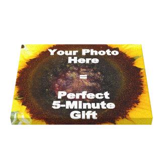 Diseñe mi propio presente personalizado de la lona lona envuelta para galerías