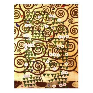 Diseñe para el Stocletfries - árbol de la vida Tarjetas Postales