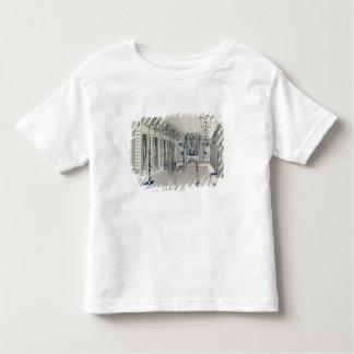 Diseñe para un cuarto de la música con los paneles t-shirts