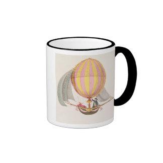 Diseñe para un dirigible, francés, c.1785 tazas de café