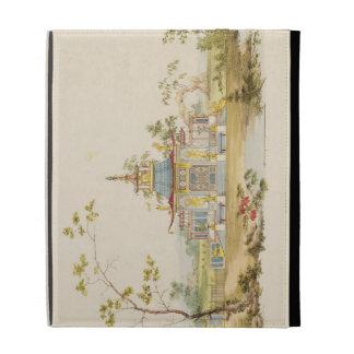 Diseñe para un templo chino, c.1810 (pluma y tinta