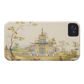 Diseñe para un templo chino, c.1810 (pluma y tinta Case-Mate iPhone 4 funda