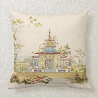 Diseñe para un templo chino, c.1810 (pluma y tinta cojin