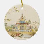 Diseñe para un templo chino, c.1810 (pluma y tinta adornos de navidad