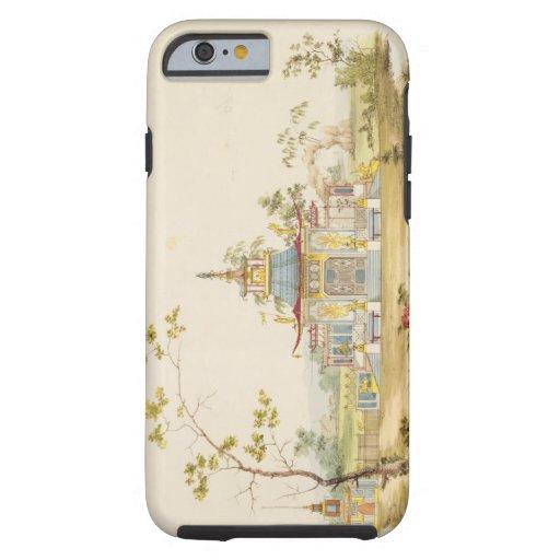 Diseñe para un templo chino, c.1810 (pluma y tinta funda de iPhone 6 tough