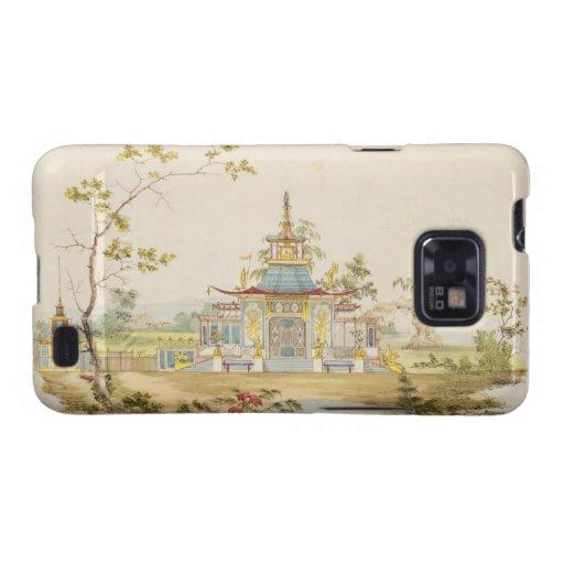 Diseñe para un templo chino, c.1810 (pluma y tinta samsung galaxy SII fundas