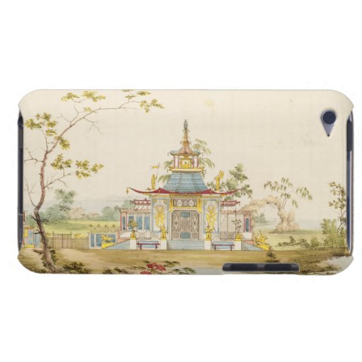 Diseñe para un templo chino, c.1810 (pluma y tinta barely there iPod fundas