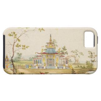 Diseñe para un templo chino, c.1810 (pluma y tinta iPhone 5 fundas