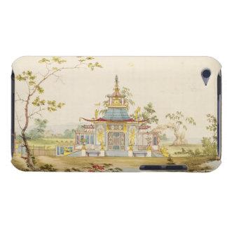 Diseñe para un templo chino, c.1810 (pluma y tinta iPod Case-Mate carcasa