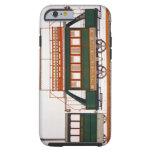 Diseñe para una tranvía del vapor, platee 126 'del funda para iPhone 6 tough