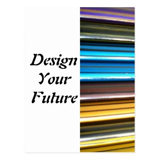 Diseñe su futuro tarjeta postal