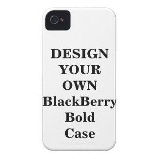 Diseñe su propia caja intrépida de Blackberry Case-Mate iPhone 4 Cárcasas