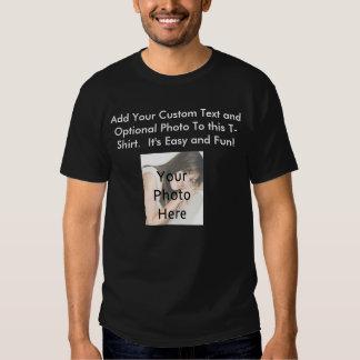 Diseñe su propia camiseta de la foto playeras