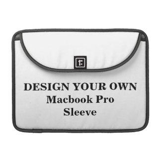 Diseñe su propia favorable manga de Macbook Funda Para Macbook Pro
