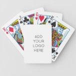 Diseñe su propia imagen personalizada personalizad baraja de cartas