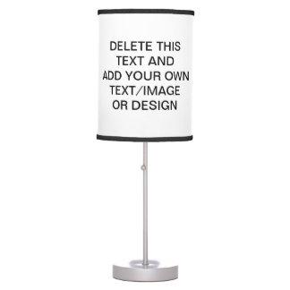 Diseñe su propia lámpara de mesa