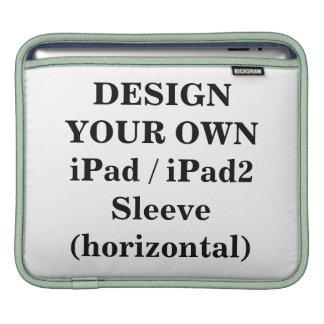 Diseñe su propia manga iPad iPad2 horizontal Funda Para iPads