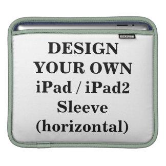 Diseñe su propia manga iPad/iPad2 (horizontal) Funda Para iPads