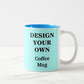 Diseñe su propia taza - azul clara
