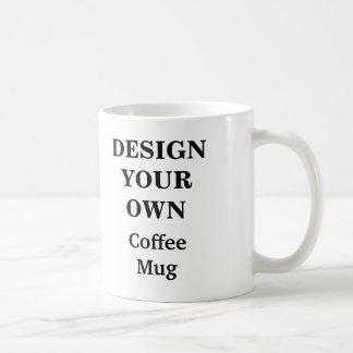 Diseñe su propia taza - blanco