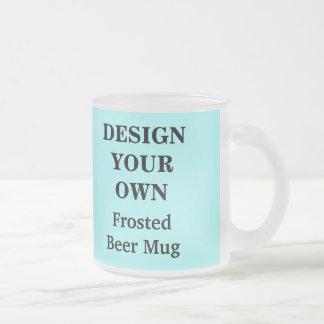 Diseñe su propia taza de cerveza - azul clara