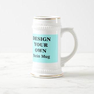 Diseñe su propia taza de Stein - azul clara y