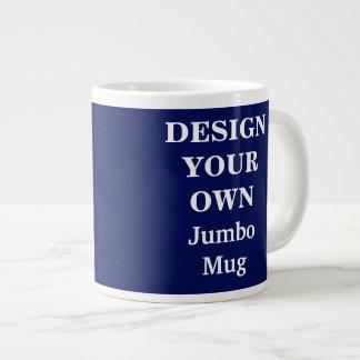 Diseñe su propia taza enorme - azul