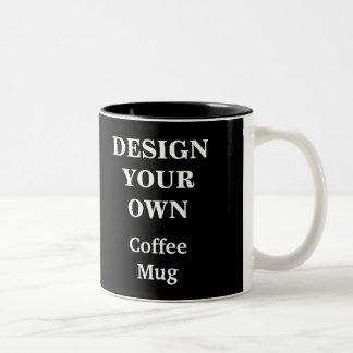 Diseñe su propia taza - negro