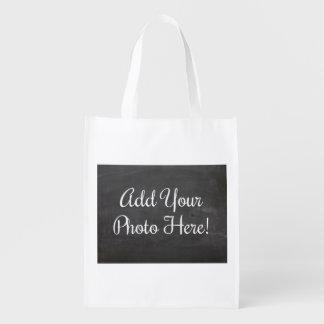 Diseñe su propio bolso de ultramarinos bolsa para la compra