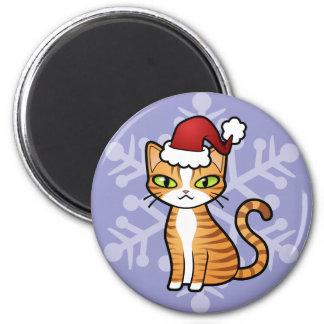 Diseñe su propio gato del dibujo animado (el imán redondo 5 cm