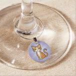 Diseñe su propio gato del dibujo animado identificadores de copas