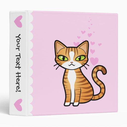 Diseñe su propio gato del dibujo animado (los cora