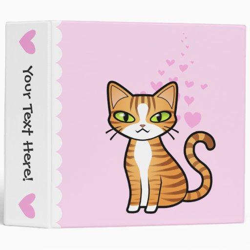 """Diseñe su propio gato del dibujo animado (los cora carpeta 2"""""""