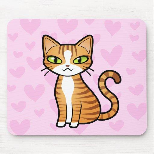 Diseñe su propio gato del dibujo animado (los tapete de raton