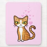 Diseñe su propio gato del dibujo animado (los tapetes de raton