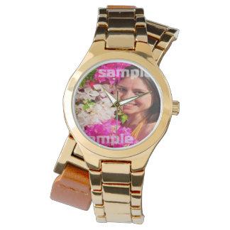 Diseñe su propio personalizado personalizado DIY Relojes De Mano