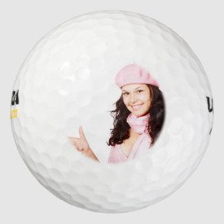 Diseñe su propio personalizado personalizado pack de pelotas de golf