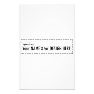 Diseñe su propio personalizado personalizan el papeleria de diseño