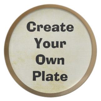 Diseñe su propio plato
