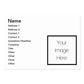 Diseñe su propio regalo de encargo - espacio en tarjetas de visita grandes