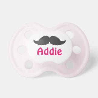 Diseñe su propio regalo del bigote del pacificador chupetes de bebé
