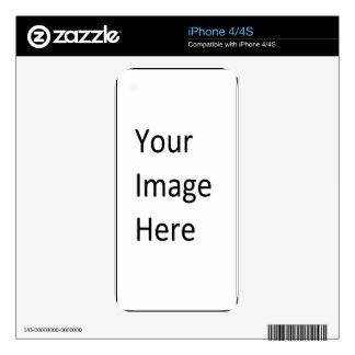 Diseñe sus los propios skins para iPhone 4