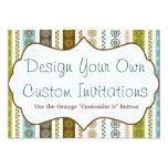 Diseñe sus propias invitaciones personalizadas comunicado